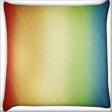 Wolldecke Multicolor Design Home Decor Werfen Sofa Auto Kissenbezug Kissen Fall 45,7x 45,7cm