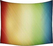Wolldecke Multicolor Design Wandteppichen indischen Mandala Tapisserie Dekorative Wohnheim Wandteppichen Beach Picknick Tabelle Hippie Tapisserie Wand, Bohemian, multi, 60 x 80