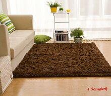 Wolldecke Schlafzimmer Wohnzimmer Couchtisch Seite drift Bereich Eingang Teppich Teppich Teppich, 140 x 200 cm, 4,5Cm/