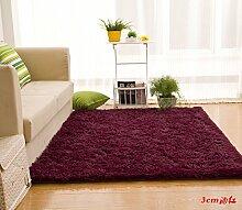 Wolldecke Schlafzimmer Wohnzimmer Couchtisch Seite drift Bereich Eingang Teppich Teppich Teppich, 120 × 160 cm, 3 cm Weinro