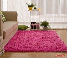 Wolldecke Schlafzimmer Wohnzimmer Couchtisch Seite drift Bereich Eingang Teppich Teppich Teppich, 150 x 230 cm, 3 cm, ro