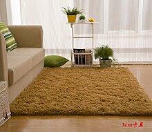 Wolldecke Schlafzimmer Wohnzimmer Couchtisch Seite drift Bereich Eingang Teppich Teppich Teppich, 120 × 160 cm, 3 cm Karte seine