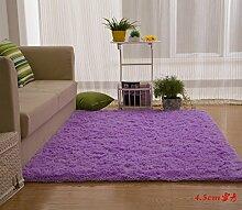 Wolldecke Schlafzimmer Wohnzimmer Couchtisch Seite drift Bereich Eingang Teppich Teppich Teppich, 63×160 cm, 4.5cm Suet-ching