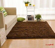 Wolldecke Schlafzimmer Wohnzimmer Couchtisch Seite drift Bereich Eingang Teppich Teppich Teppich, 63 x 160 cm, 3 cm Kaffee