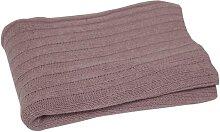 Wolldecke, Tagesdecke Cash Wool Decke rosa 130x180cm A.U. Maison (49,95 EUR / Stück)