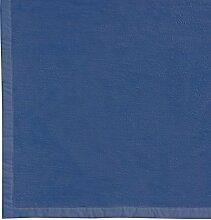 Wolldecke / Wohndecke 100% Bio Baumwolle kba. 150 x 200 cm (Blau)