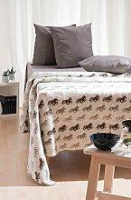 Wolldecke | Wohndecke | Tagesdecke aus Islandwolle