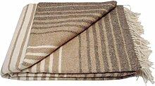 Wolldecke - Wolle (140cm x 200cm) Plaid Blanket