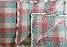 Wolldecke Wollplaid Tagesdecke Sofadecke