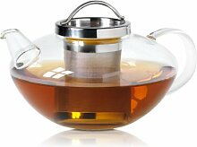 Wollenhaupt 49694 Tee-/Glas Kanne, Lotus mit