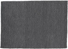 Wollteppich Industrial, 140 x 200cm, grau