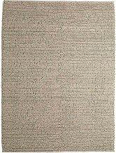 Wollteppich Industrial, beige, 160x230