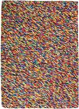 Wollteppich RAINBOW, 160 x 230cm, bunt