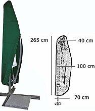 WOLTU #126 Schutzhülle Schutzhaube Hülle für Gartenmöbel wasserabweisend Grün (für Sonnenschirm Grün GZ1163)
