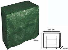 WOLTU #126 Schutzhülle Schutzhaube Hülle für Gartenmöbel wasserdicht Grün (für Tischtennisplatte Grün GZ1165)