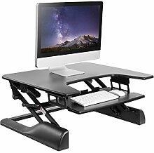 WOLTU Computertisch Sitz-Steh-Schreibtisch
