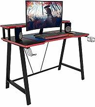 WOLTU Gaming Tisch TS124sz Ergonomic Gaming