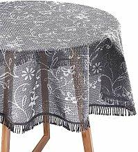 WOLTU Gartentischdecke Weichschaum Tischdecke mit