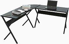 WOLTU® Schreibtisch TS62sz L-Form Eckschreibtisch
