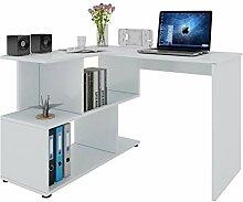 WOLTU® Schreibtisch TS64ws Computertisch