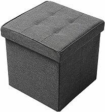WOLTU Sitzhocker Faltbarer Sitzwürfel mit