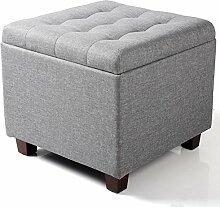 WOLTU Sitzhocker Sitzwürfel mit Stauraum,