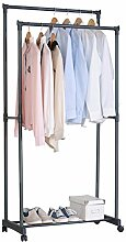 WOLTU SR0004 Kleiderständer Garderobenständer