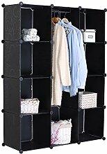 WOLTU SR0012OT Kleiderschrank Garderobenschrank,