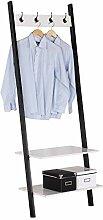 WOLTU SR0064ws Handtuchständer Garderobenständer