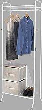 WOLTU SR0070 Garderobenständer Kleiderständer
