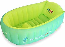 Womdee Baby Aufblasbare Badewanne, Reise Tragbare
