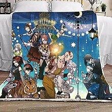 WOMNSDN Decken Anime Black Butler Bettdecke