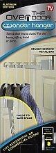 Wonder Hanger, Über der Tür Schrank Kleiderbügel, Platzsparend Und Organizer (Platin)