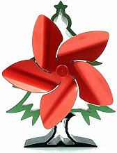 wongbey Kaminventilator, Weihnachtsbaum Herd Fan,