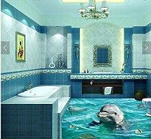 Wongxl 3D Bodenbeschichtungen Wc Badezimmer