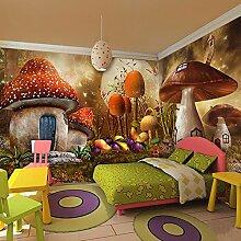 Wongxl 3D Pilz Haus Wald Tier Kinder Sind
