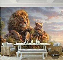 Wongxl 3D Tier Große Gemälde Landschaft Gemälde