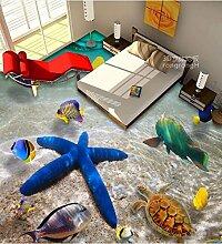 Wongxl 3D Unterwasserwelt Sea Star Meer Wc