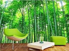 Wongxl 3D Wandbilder Tapete Bambuswald