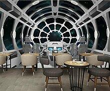 Wongxl 3D Wandbilder Tapete Universum 太 Bar