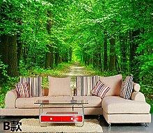 Wongxl Der Wald 3D Tapete Schlafzimmer Wohnzimmer