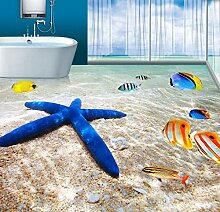 Wongxl Die 3D Boden Wand Ocean Beach Sea Star