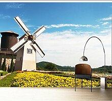 Wongxl Die Niederländische Windmühle Tapete
