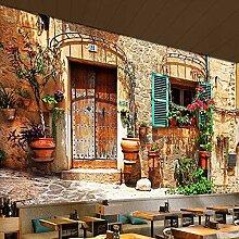 Wongxl Gebäude Stadtansicht 3D Wandbilder Tv