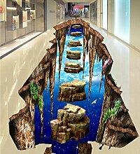 Wongxl Große 3D In Die Mall Flure Badezimmer
