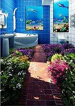Wongxl Kreative Blumen Kleine Straße Wc