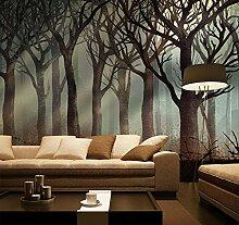 Wongxl Moderne Waldwandmalereien Im Wohnzimmer
