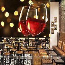 Wongxl Wand Tapete Wohnzimmer Wein Restaurant