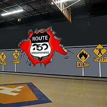 Wongxl Warnzeichen 3D Gegen Die Großen