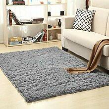 Wonque Zottelteppich Esszimmerteppich Bodenmatten